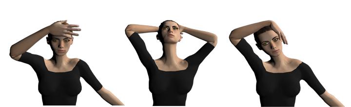 esercizio isometrico cervicale